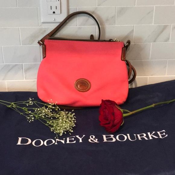 Dooney & Bourke Handbags - Crossbody D&B material bag